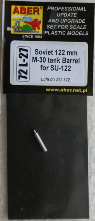 ABER 1/72 72L-27 122mm M-30 for SU-122